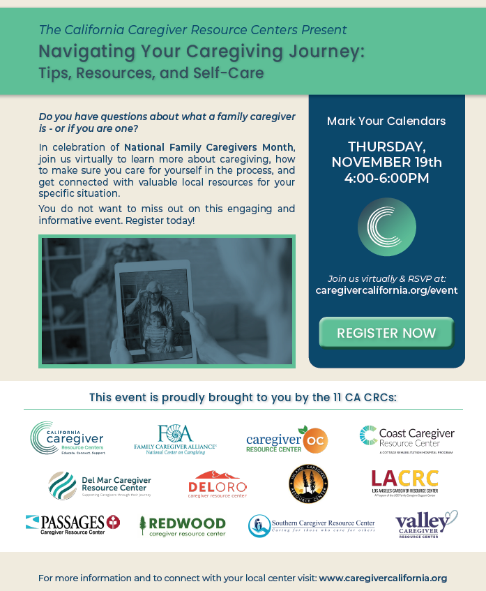 California Caregiver Resource Centers Event